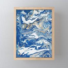 Marble Framed Mini Art Print