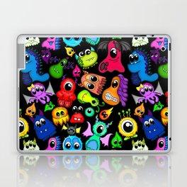 Little Monsters- Black Laptop & iPad Skin