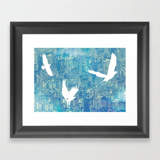 Ecotone (day) Framed Art Print