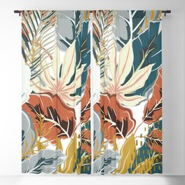 Tropical Wild Jungle Blackout Curtain