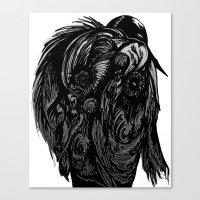 birdman Canvas Prints featuring Birdman by Hartless