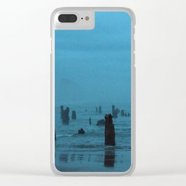Ghost Forest Clear iPhone Case