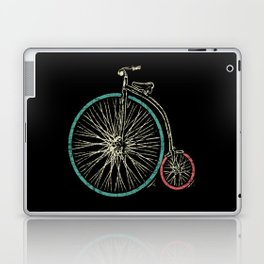 Cycling Forever | Penny Farthing High Wheel Laptop & iPad Skin