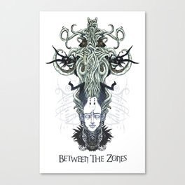 Between The Zones | Hora Canvas Print