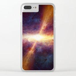 Quasar Clear iPhone Case