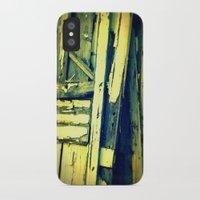 doors iPhone & iPod Cases featuring doors by Krista Glavich