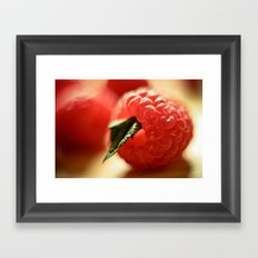 Raspberry Framed Art Print