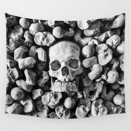 Empty Eyes Wall Tapestry