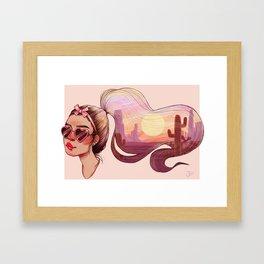 Vibes Framed Art Print
