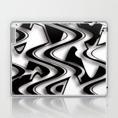 Abstraction in black and white CB Laptop & iPad Skin