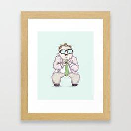Motivational Speaker Framed Art Print