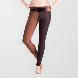 Super Pretty Hentai Girl Model With Sad Expression Ultra HD Leggings