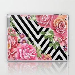 flowers geometric Laptop & iPad Skin