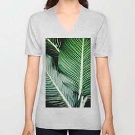 Palm-Tree Breeze Unisex V-Neck