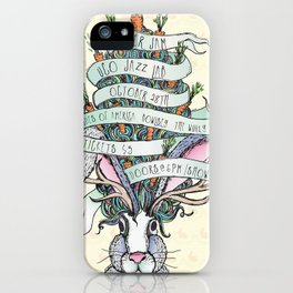 Paper Jam '15 by Maisie Cross iPhone Case