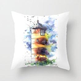Lighthouse #3 Throw Pillow