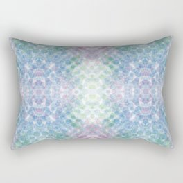 blue green red dots Rectangular Pillow