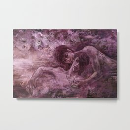 Sakura Onsen Metal Print