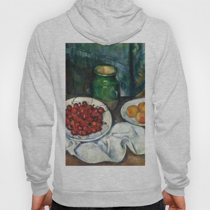 "Paul Cezanne ""Still Life with Cherries and Peaches"" Hoody"