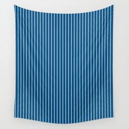 Snorkel Blue Stripes Wall Tapestry