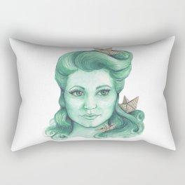 Paper ships II Rectangular Pillow