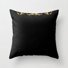 Golden Paradox Throw Pillow