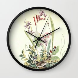 Adventures with Audubon Wall Clock