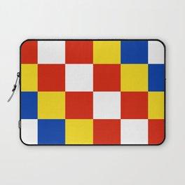 Antwerp flag belgium country region Laptop Sleeve