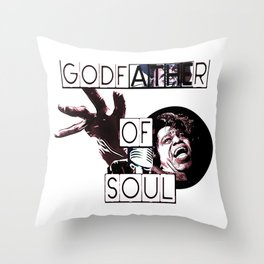 GODFATHER OF SOUL Throw Pillow