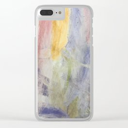 Spring Garden Clear iPhone Case