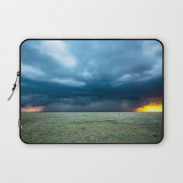 Regeneration - Storm Strengthens With Amazing Color in Texas Laptop Sleeve