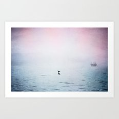 A Moment of Rest - Breathe Art Print