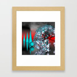 another landscape in nowhereland -1- Framed Art Print