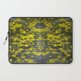 Mustard Rising Laptop Sleeve