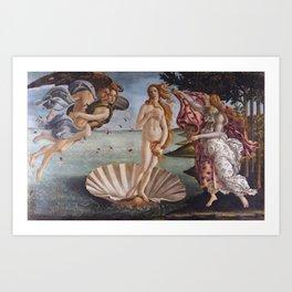 Sandro Botticelli The birth of Venus 1485 Artwork for Prints Posters Tshirts Men Women Kids Art Print