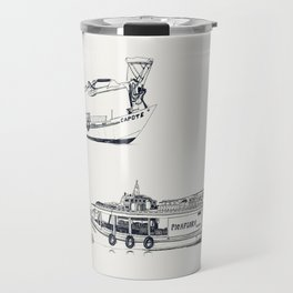 On paper: Capote y Picaflor Travel Mug