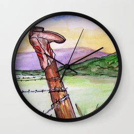 Not Forgotten Wall Clock