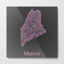 Maine Metal Print
