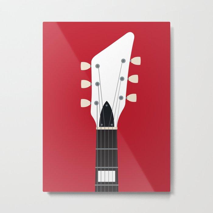 Guitar Heroes #3 - Jack Metal Print