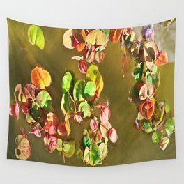 Funny water plants Wall Tapestry