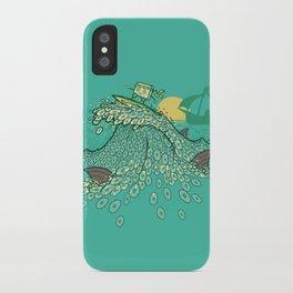 Surfin' Soundwaves iPhone Case
