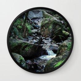 Olinda Falls Wall Clock