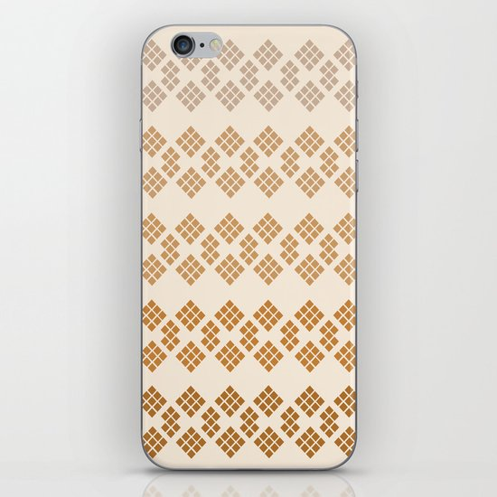 Gold Diamonds iPhone & iPod Skin