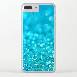 Blue Blue Sky Clear iPhone Case