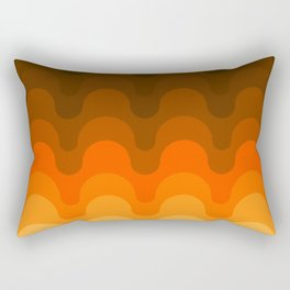 Julio - Golden Rectangular Pillow