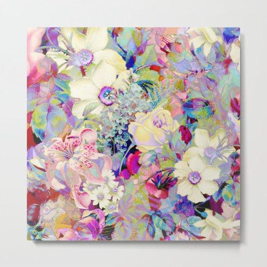 summery floral Metal Print