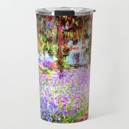 Monets Garden in Giverny Travel Mug