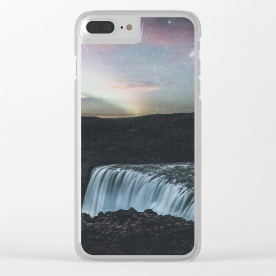 Dettifoss, Iceland II Clear iPhone Case