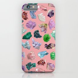 Magic Crystals iPhone Case