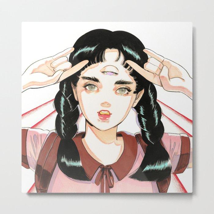 TRII 001 Metal Print